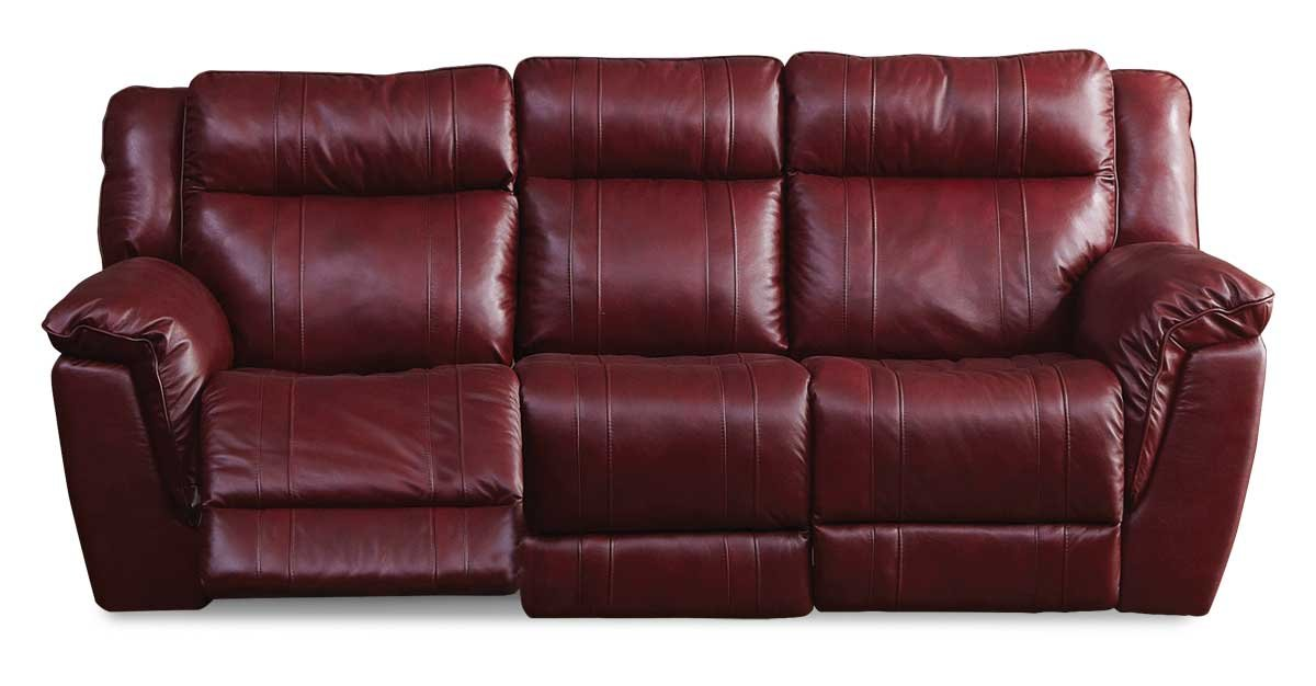 Red Leather Match Reclining Sofa Loveseat K Motion Rc Willey Furniture Store