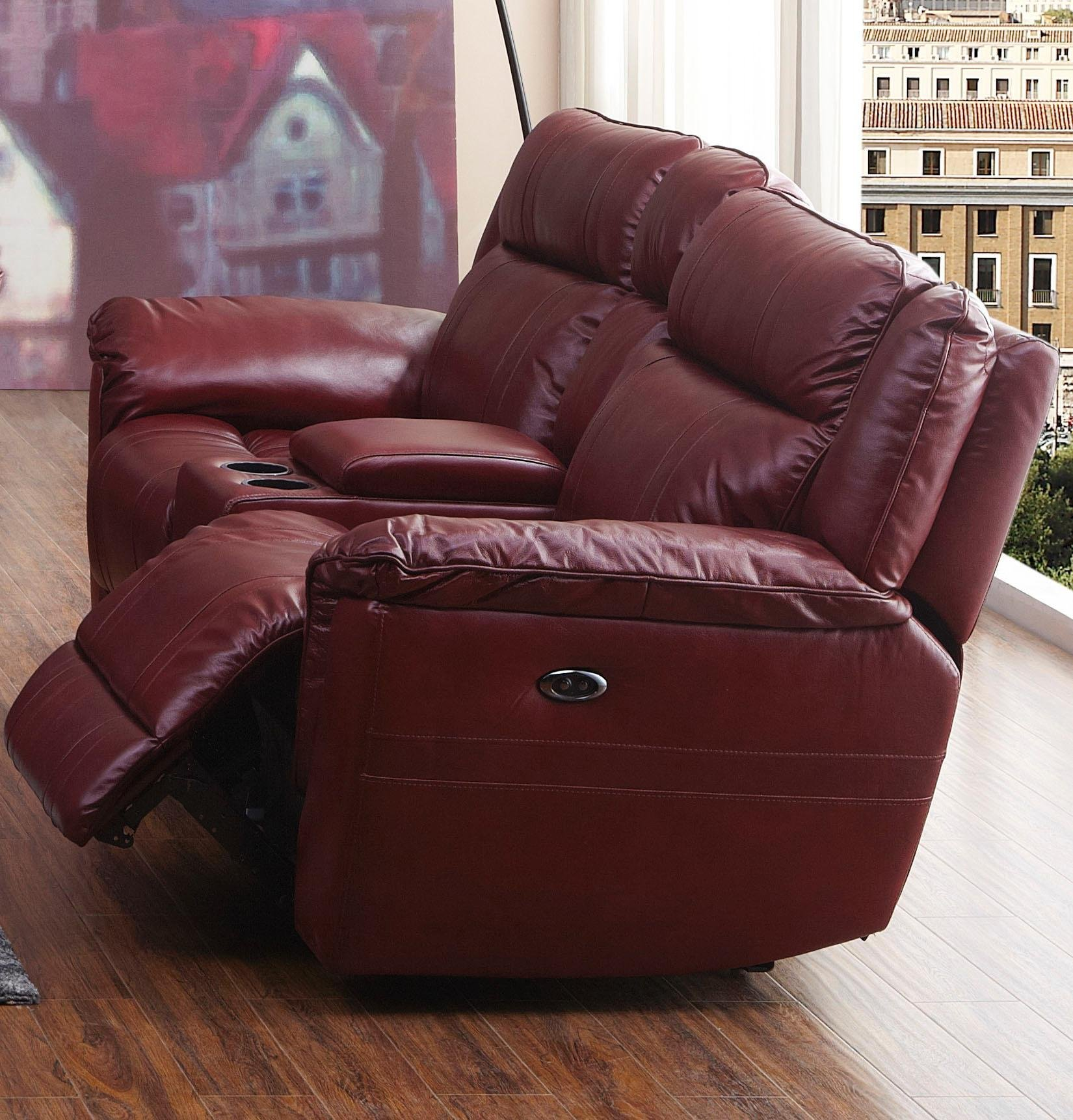Red Leather Match Reclining Sofa Loveseat K Motion Collection Rc Willey Furniture Store