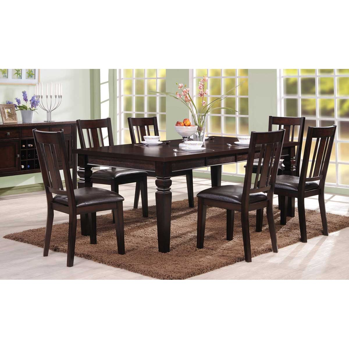 Willey Furniture: Homelegance 5 Piece Dining Set