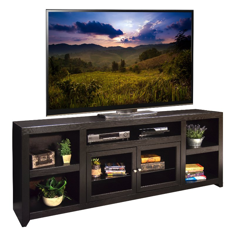 Rc Willey Tv Deals: 85 Inch Mocha Brown TV Stand - Skyline