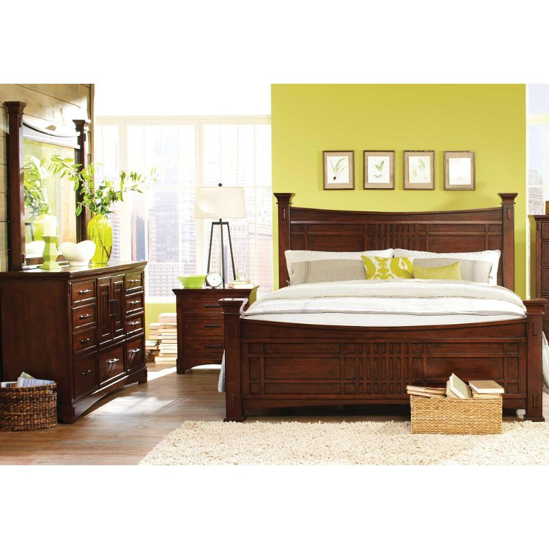 Artisan Home International Furniture 6 Piece King Bedroom Set
