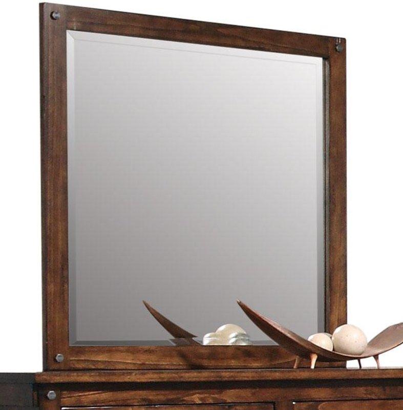 Rc Willey Lehi Ut: Jessie Rustic Brown Mirror