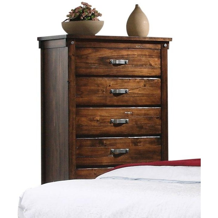 Rustic Brown Chest Of Drawers Jessie Rc Willey Furniture Store