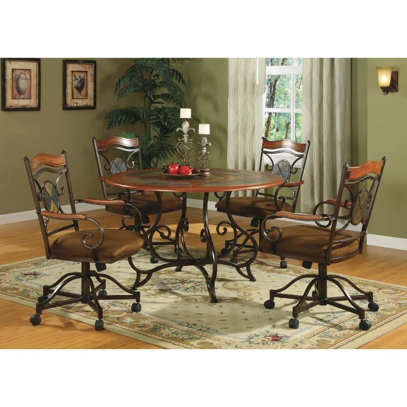 Kendall 5 Piece Dining Set Rcwilley Image1
