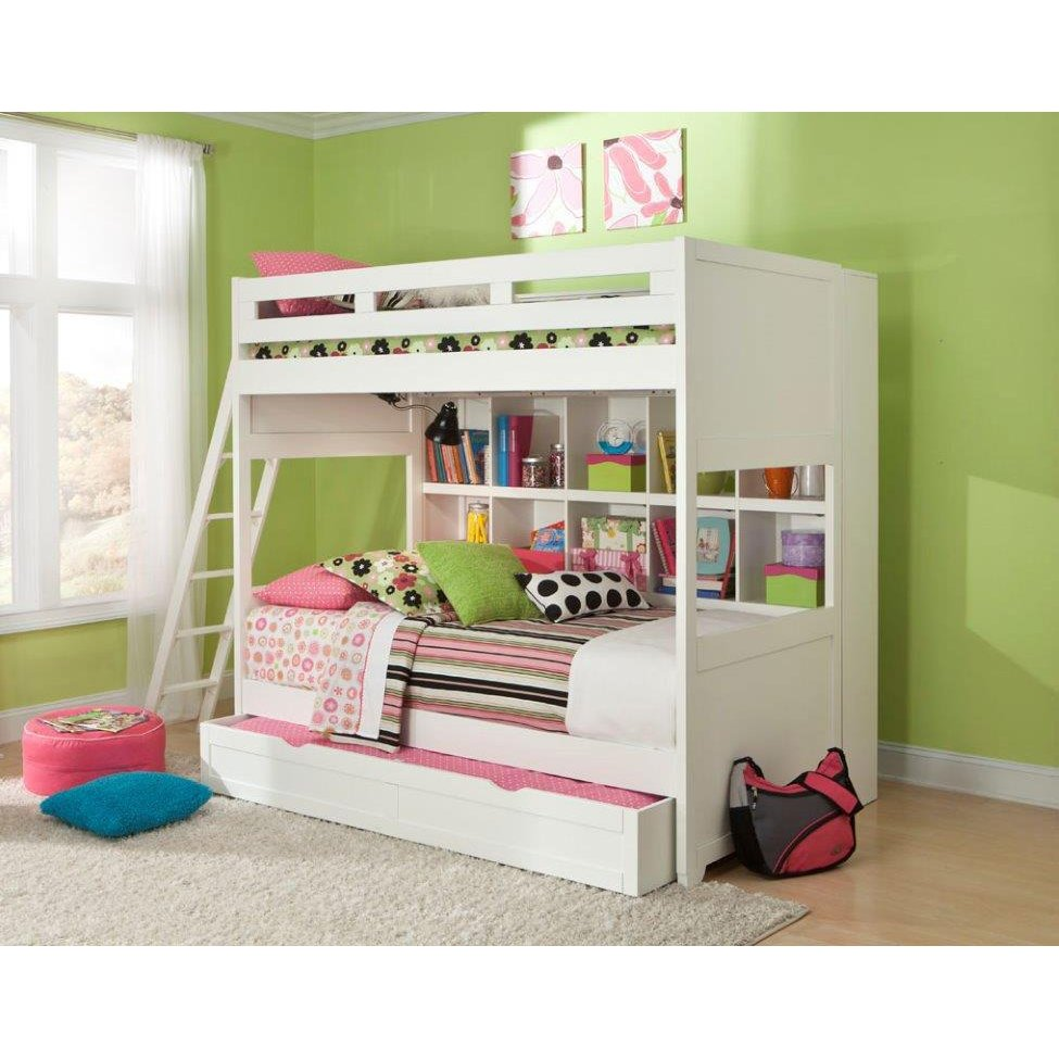 Smart Solutions Twin Over Twin Bunk Bed With Trundle