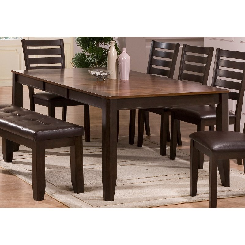 Willey Furniture: Brown Dining Table - Elliott