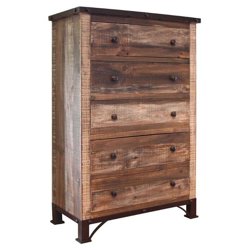 color with product drawer narrow rustic painted lady thin vintage ladies chest recalimed colors in s of drawers paint wood barn