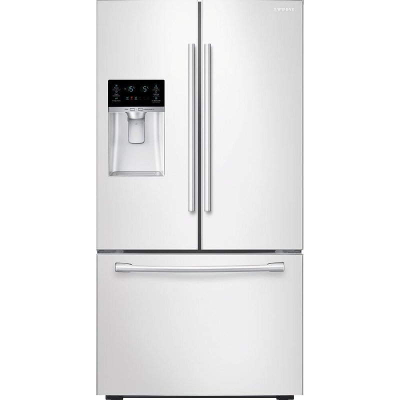 Samsung French Door Refrigerator 36 Inch White Rc
