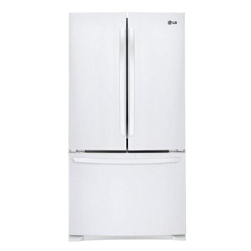 Lg White 28 Cu Ft Bottom Freezer French Door