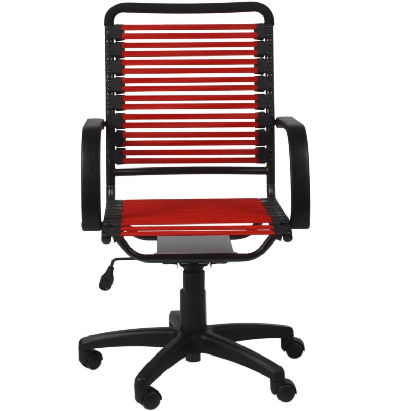 Red Bungee High Back Office Chair Bungie