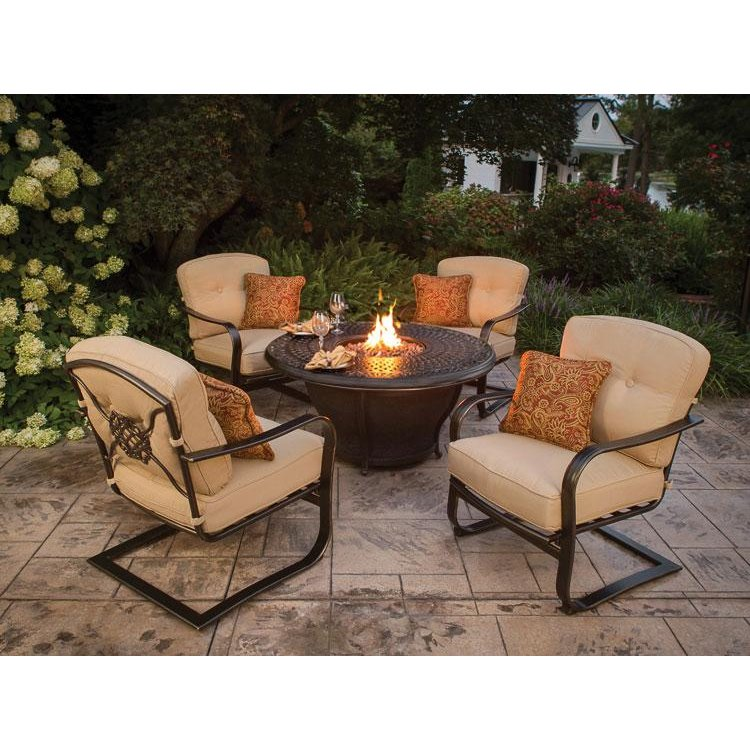 Charleston 5 Piece Fire Pit Set rcwilley image1 800