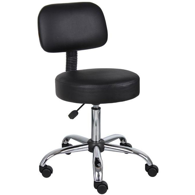 Strange Black Drafting Office Chair With Back Dailytribune Chair Design For Home Dailytribuneorg