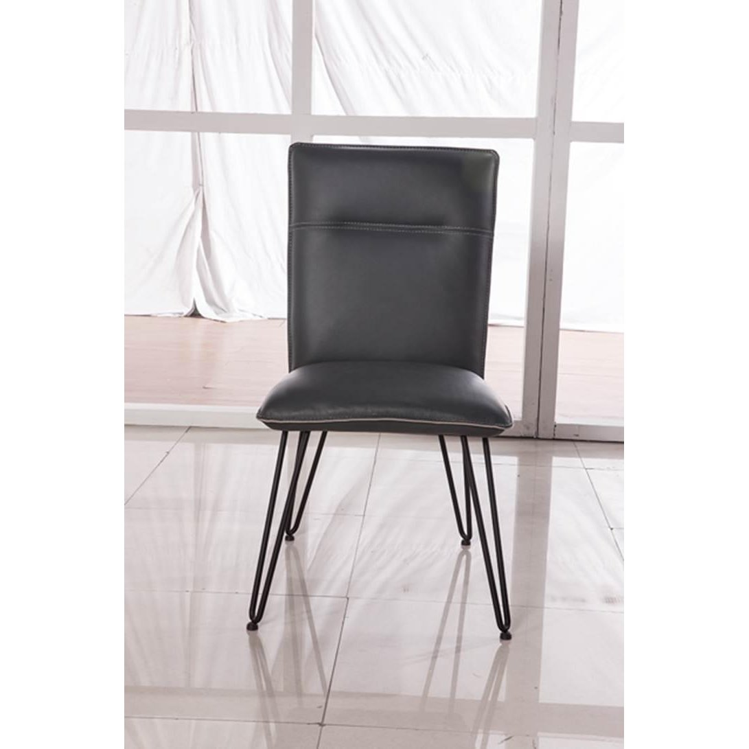 Charcoal Modern Dining Room Chair Live Edge Rc Willey