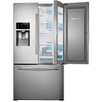 Samsung 36 Quot Stainless Steel 28 Cu Ft French Door Refrigerator Rc Willey Furniture Store