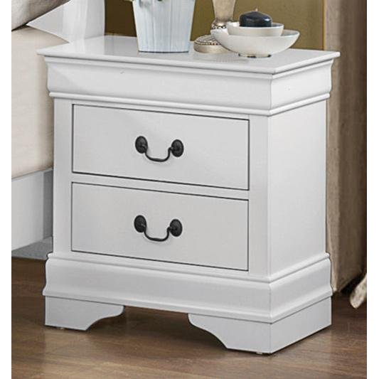 Rc Willey Lehi Ut: Classic Traditional White Nightstand - Mayville