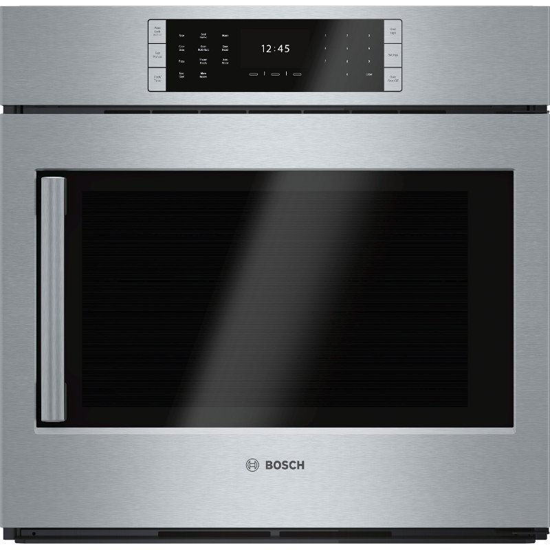 Rc Willey Idaho: Bosch 30 Inch Convection Single Wall Oven With Left-Side