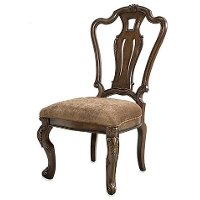 Chestnut Brown Dining Room Chair - Rochelle Collection
