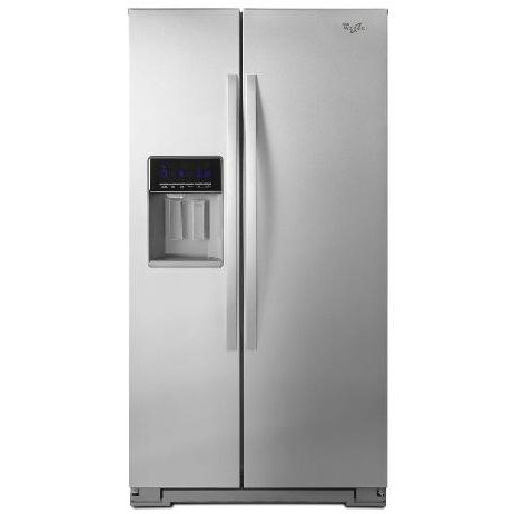 Whirlpool 36 Inch Side By Side Refrigerator Counter Depth