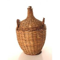 Small Wicker Wine Bottle Rc Willey Furniture Store
