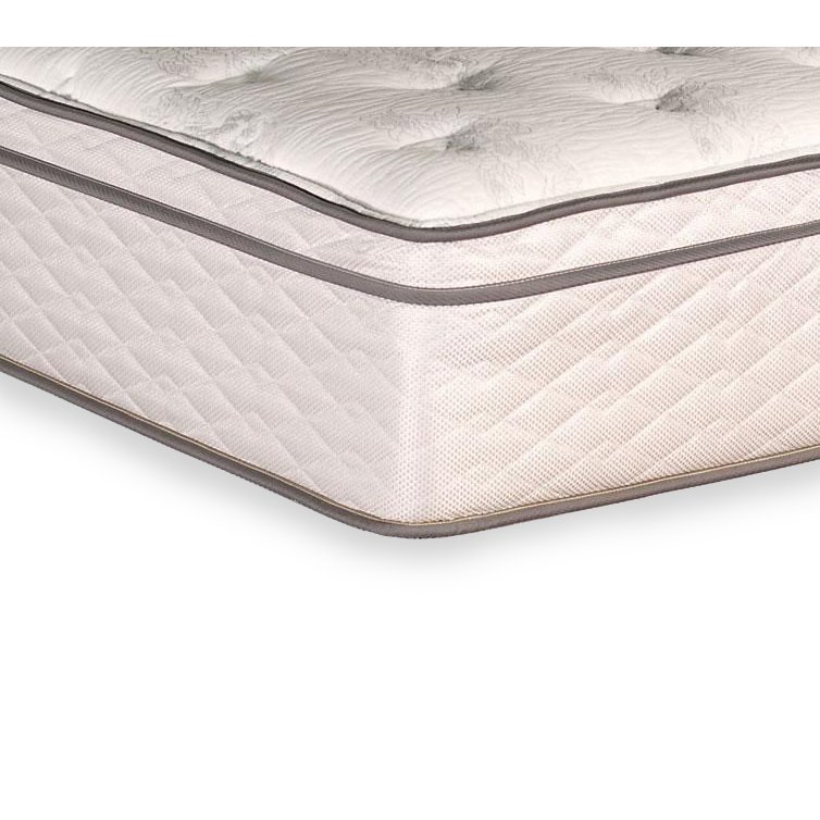Beau Full Size Mattress   Sunset Chapel Hill Euro Top | RC Willey Furniture Store