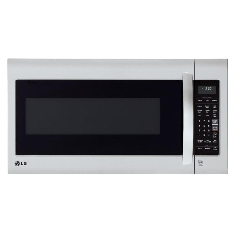 Lg 30 Inch 2 0 Cu Ft Over The Range Microwave Oven