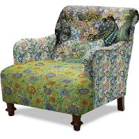 Repeatables 32 Quot Multi Colored Upholstered Accent Chair