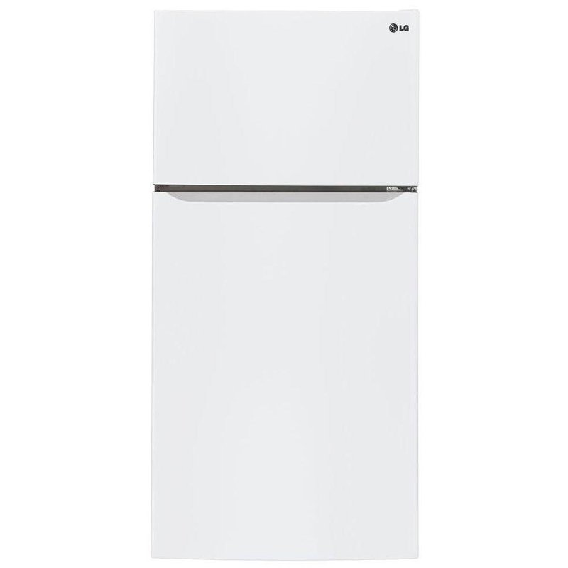 Lg Top Freezer Refrigerator 30 Inch White Rc Willey