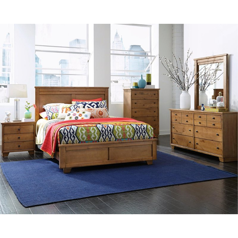diego dune 6 piece queen bedroom set