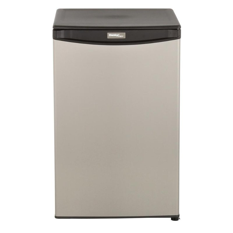 Danby 21 Inch Compact Refrigerator Stainless Steel Rc