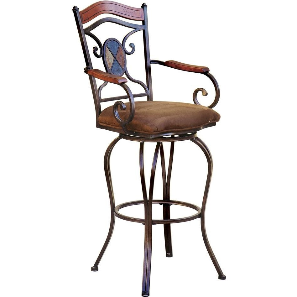 Kendall Metal 24 Quot Swivel Counter Stool