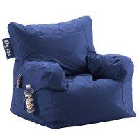 Big Joe Blue Bean Bag Chair Rc Willey Furniture Store