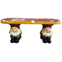 Gnome Garden Bench Rc Willey Furniture Store