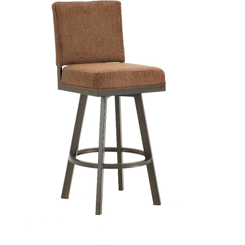 Pasadena 26 Inch Swivel Counter Height Stool Rc Willey Furniture Store