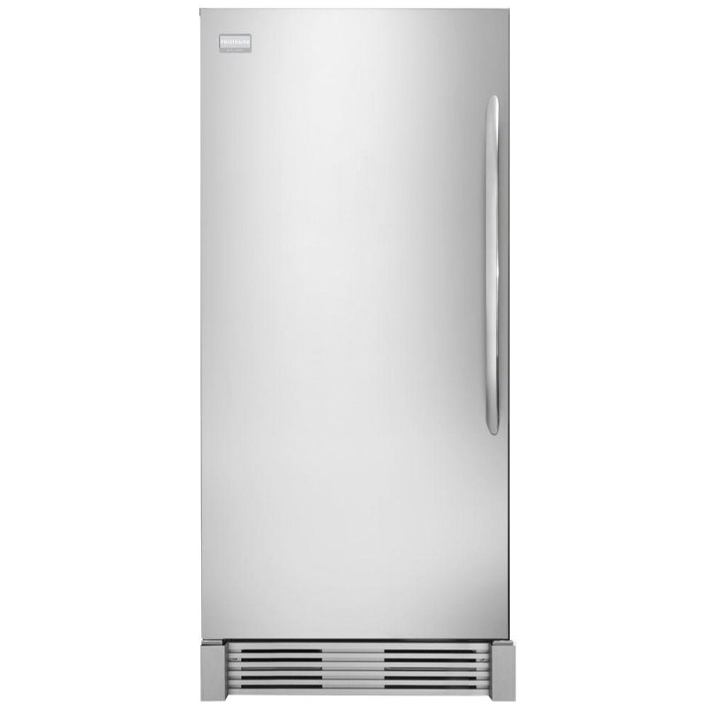 frigidaire upright freezer - 19 cu  ft  stainless steel | rc willey  furniture store