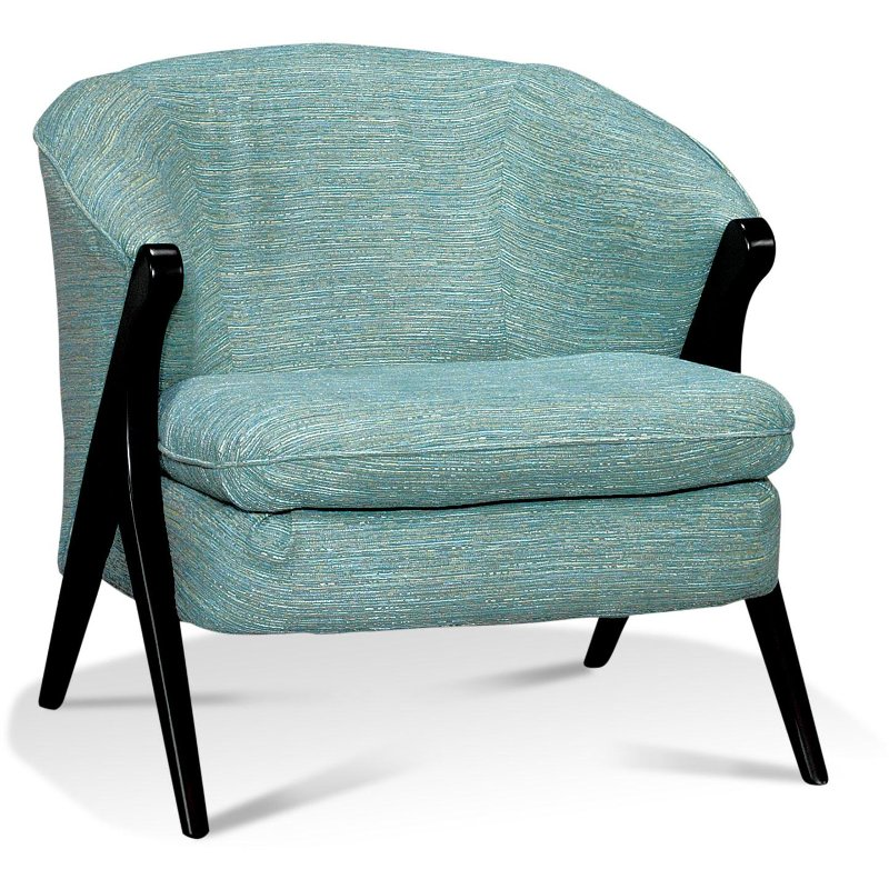 30 Teal Retro Accent Chair