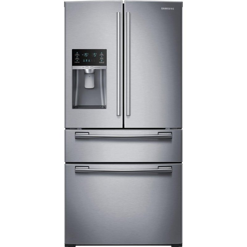 Samsung French Door Refrigerator 33 Inch Stainless Steel Rc
