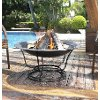 CO9002A-BK Traditional Outdoor Fire Pit - Buckner