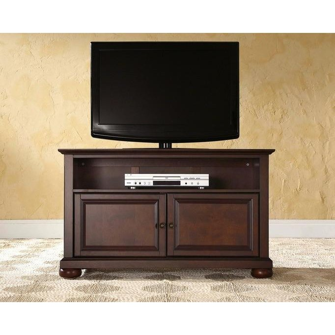 Mahogany 42 Inch Tv Stand Alexandria Rc Willey Furniture Store