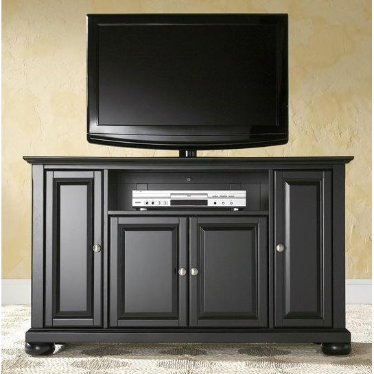 Rc Willey Tv Deals: 48 Inch Black TV Stand - Alexandria