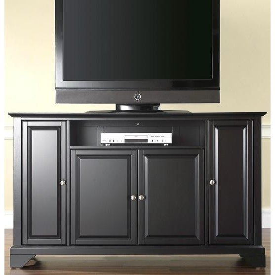 Rc Willey Tv Deals: Black 60 Inch TV Stand - LaFayette