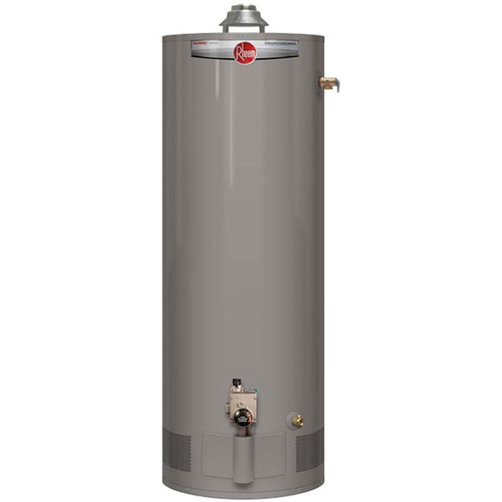 Rheem Professional Classic 50 Gallon Gas Water Heater With