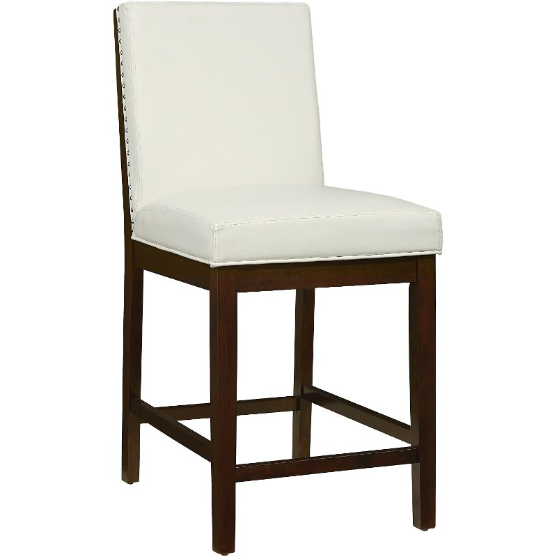 Couture White 24 Quot Counter Stool