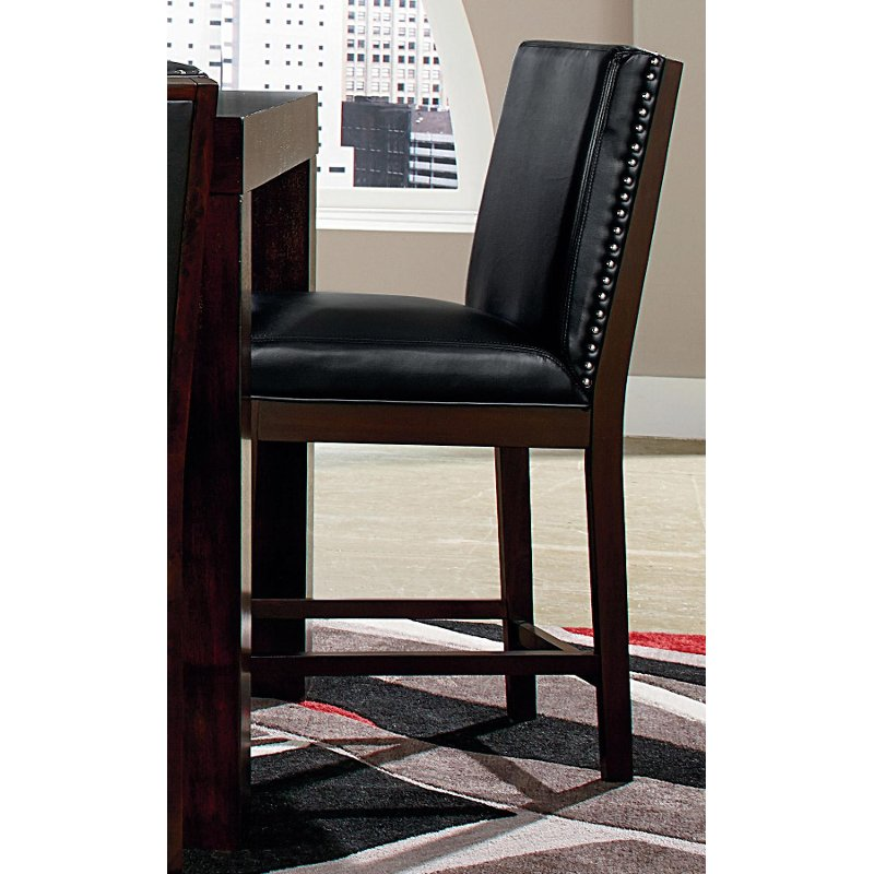 Couture Black 24 Quot Counter Stool