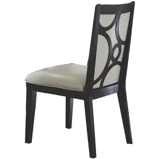 Planet Espresso Upholstered Side Chair
