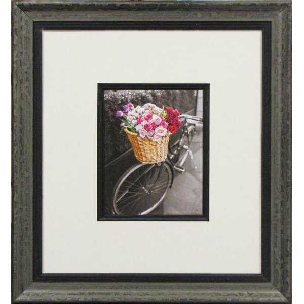 Basket Of Flowers And Bicycle I Framed Wall Art Rc Willey