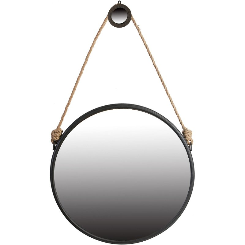 large hanging mirror