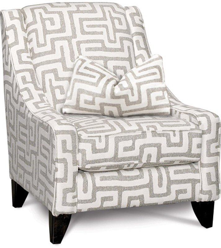 Superieur Contemporary Oatmeal U0026 Cream Accent Chair   Renegade