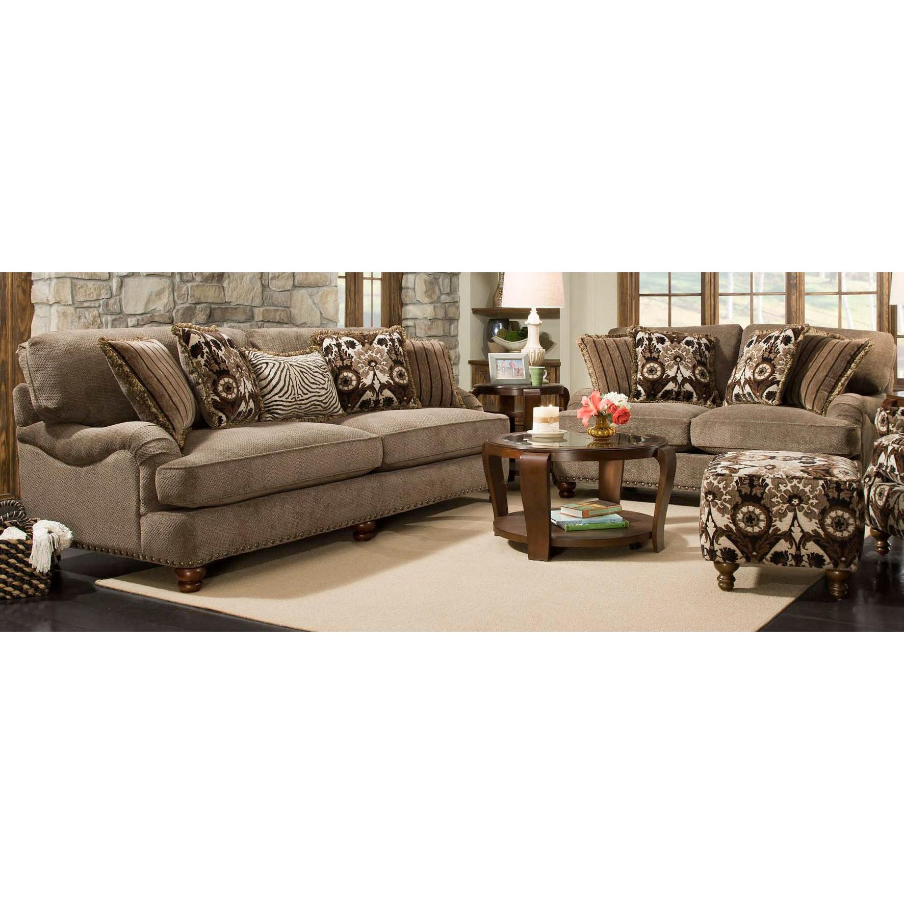 Prodigy Mink Upholstered 2 Piece Room Group