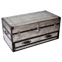 Silver trunk coffee table rc willey furniture store Silver trunk coffee table