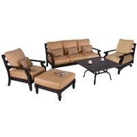 Asheville 5 Piece Seating Set Rc Willey Furniture Store